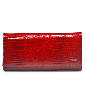 Image 2 - HH Women Wallets and Purses Luxury Brand Alligator Long Genuine Leather Ladies Clutch Coin Purse Female Crocodile Cow Wallet