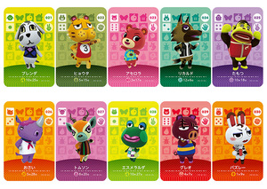 Image 3 - New Amiibo Card NS Game Series 1 (001 to 040) Animal Crossing Card Work for