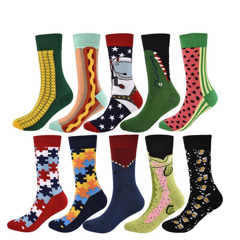 Men'S Socks Happy Socks Comfortable Cotton Socks For Men Women High Quality Unisex Male Socks