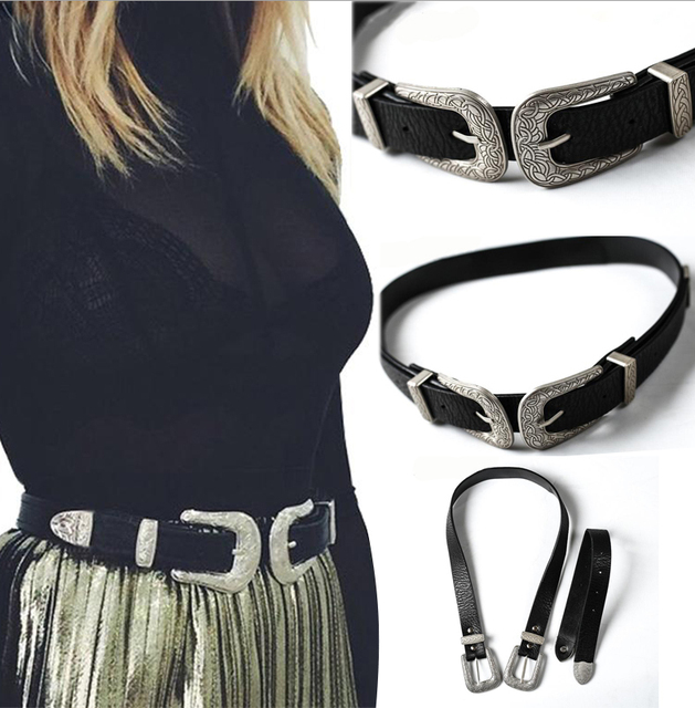 Vintage Retro Boho Leather Belt