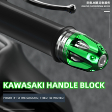 Motorcycle Grip Bar End Weight Balance for Kawasaki Ninja 250 300 400 500 600 650 750 900 1000 ZX10R ZX14R ZX6R ZX25R Z650 Z900