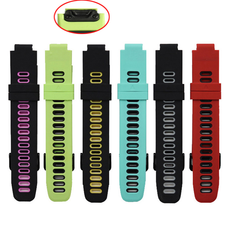 For Garmin Forerunner 235 Band Silicone Quick Easy Fit Strap For Garmin Forerunner 220/230/235/620/630/735XT/235Lite Bracelet