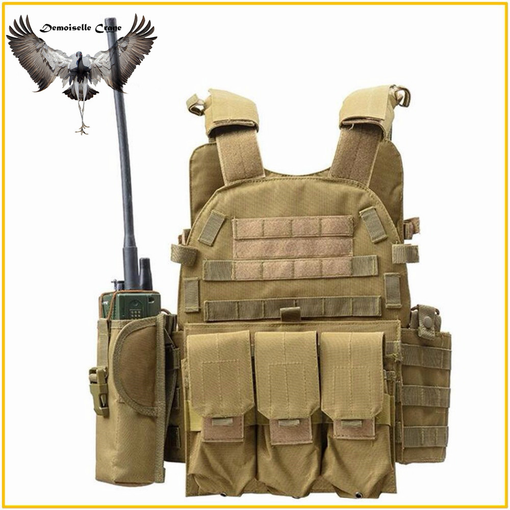 Body Armor JPC Plate Carrier Vest Ammo Magazine Chest Rig Airsoft Paintball Gear Loading Bear Vest Hunting Tactical Accessories