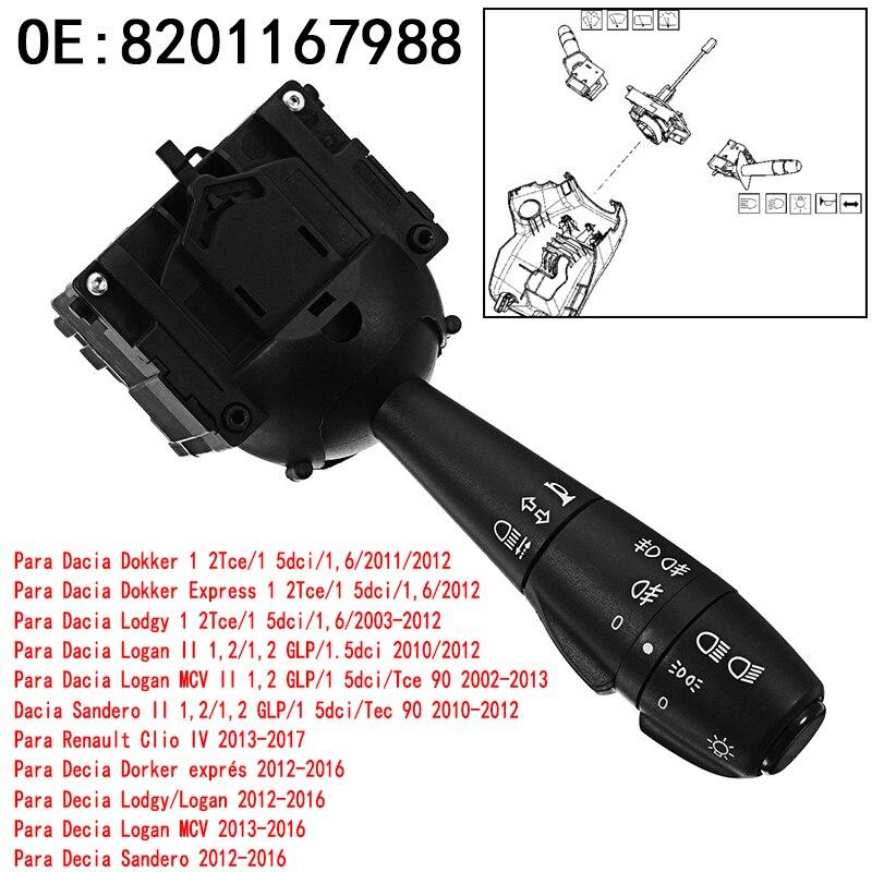 Bocina de Control para intermitente izquierdo para Dacia Dokker Duster Lodgy Logan Sandero 251682 8201167988 681726046R 2554056