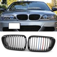 Пара грилей для переднего бампера BMW 3 Series E46 4-Door 1998 1999 2000 2001