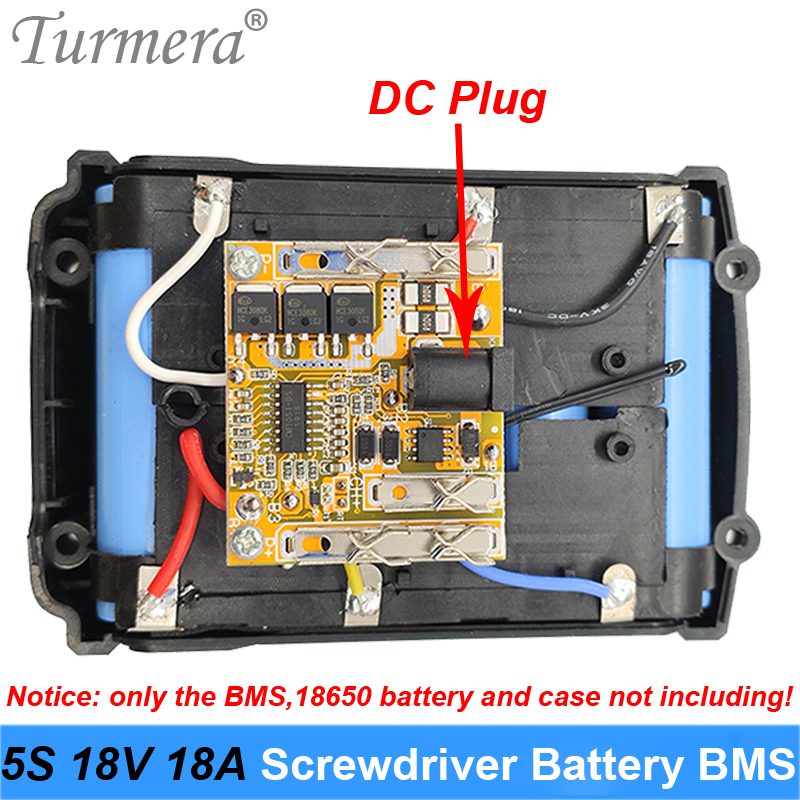 5S 18V 21V 18A 18650 Lithium Battery BMS 18V Screwdriver Battery Shura Charger Protection Board For Makiita Dewelt Screwdriver