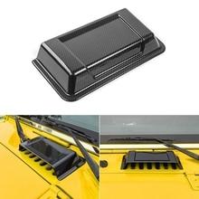 Крышка капота двигателя впускная крышка Впускного капота вентиляционный совок для 2007- Jeep Wrangler JK автомобильные аксессуары