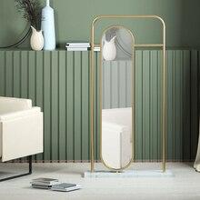 Dressing-Mirror Full-Body-Mirror-Clothing Hanging-Hanger Household Integrated