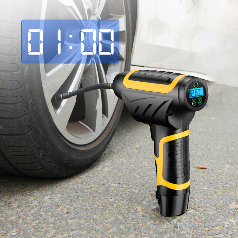 AOSHIKE Wireless Car Air Compressor Pump Portable Handheld Car Tire Inflator Air Pump 150 PSI Repair Tool For Motocycle Bicycle