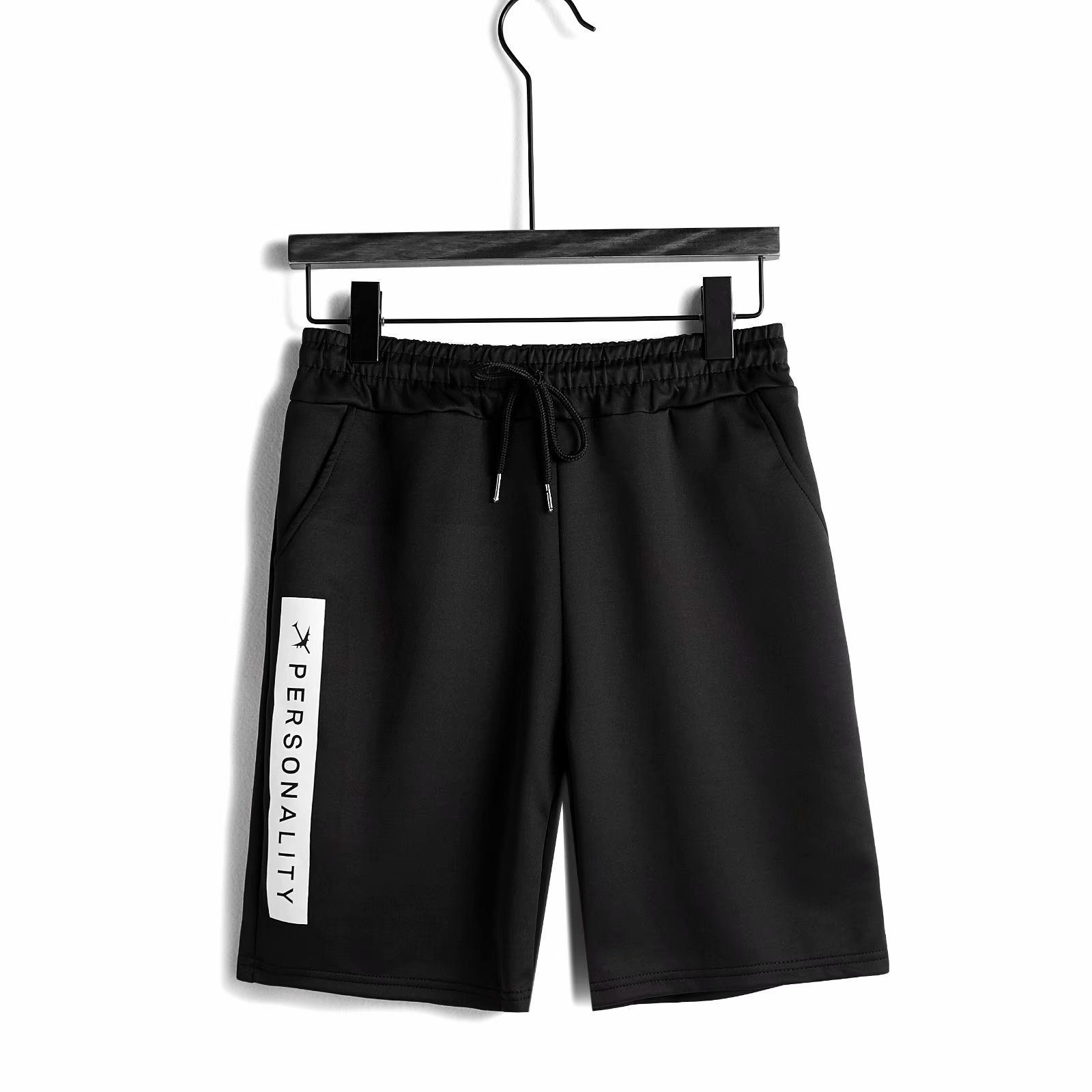 Summer Thin Section Elasticity Casual Athletic Pants Men's Fat Plus-sized Shorts Men's Breathable Quick-Dry Shorts