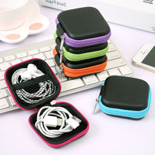 Case Memory-Card Earphone-Holder Storage for Earbuds Usb-Cable Hard-Bag Carrying