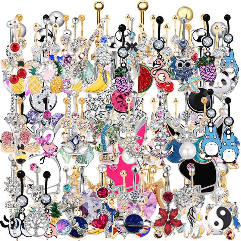 1PC More 1000 different designs belly rings , Piercing Navel Body Piercing Jewelry