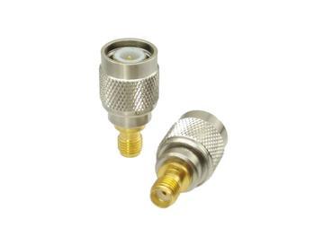 1 шт. штепсельная вилка TNC к гнезду SMA разъем адаптера RF латунь Соединители      АлиЭкспресс