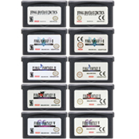 32 Bit Video Game Cartridge Console Card For Nintendo GBA Final Fantas Series EU/US Edition