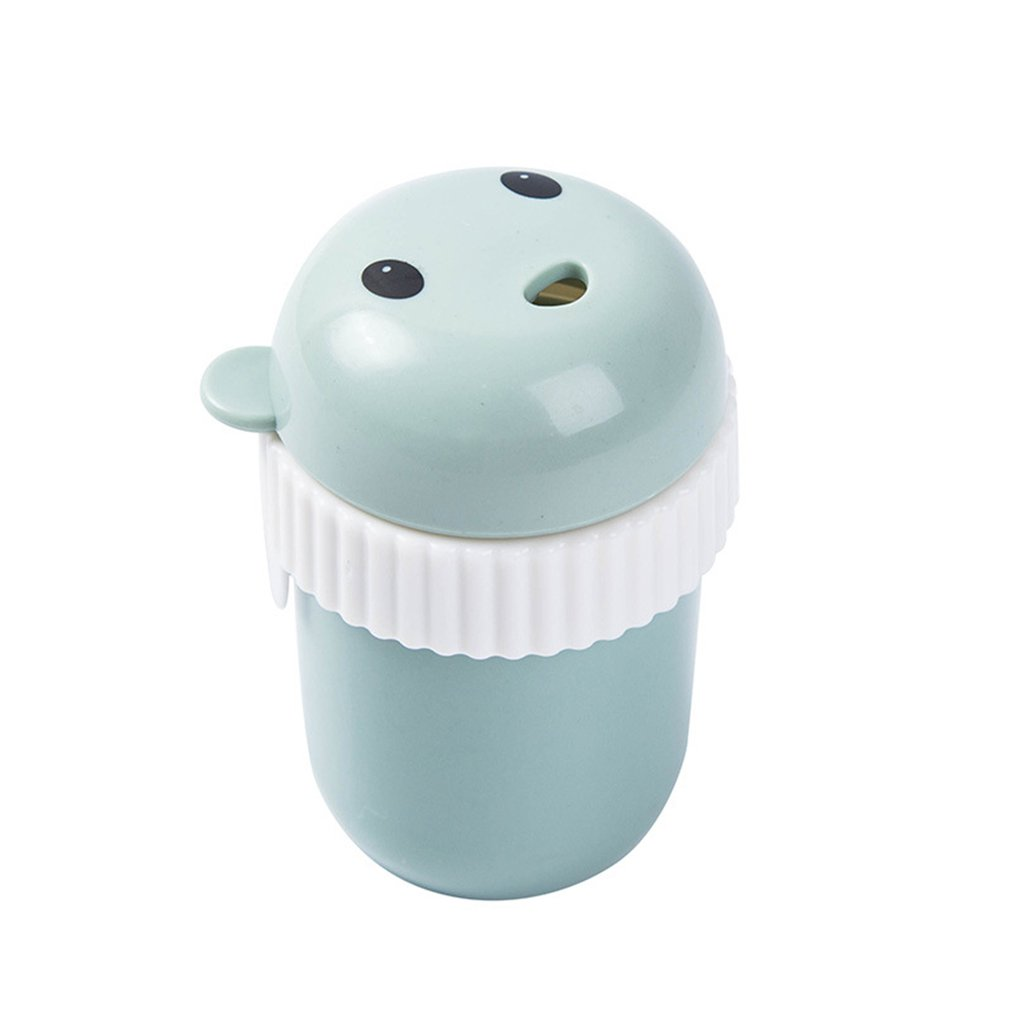 Bear Toothpick Box carry portable Nordic Green daily supplies health and beauty personal care products