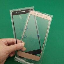 5 adet cam + oca film yedek dokunmatik ekran LCD kapak için LG K10 güç M320 M320N M320TV (X güç 2) x500 X320S X320K
