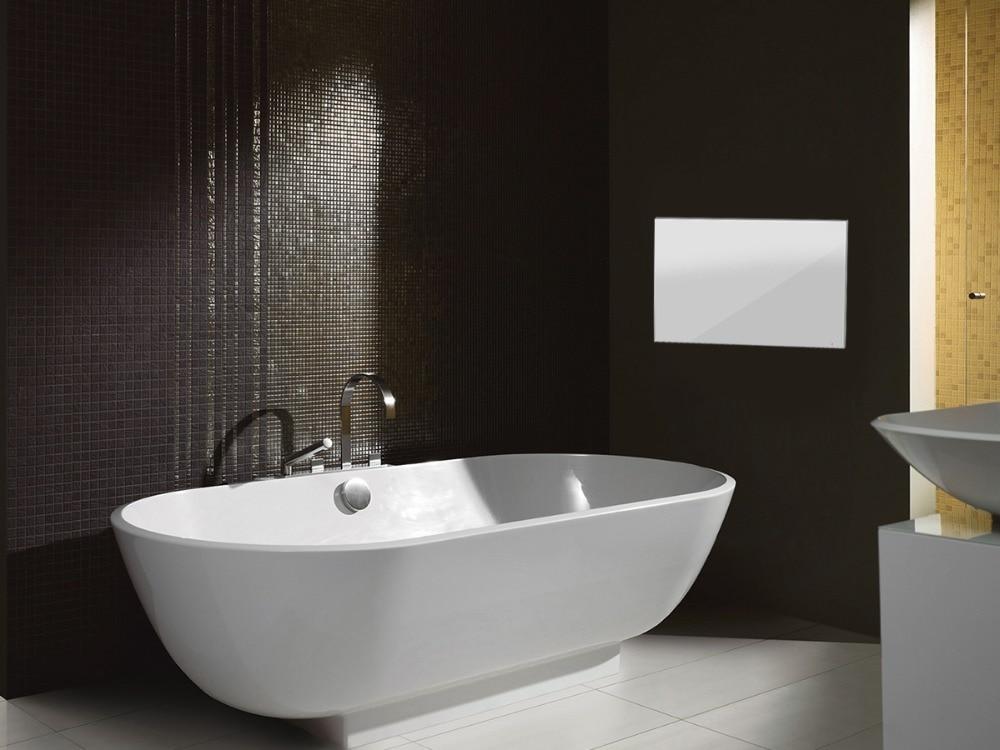 "H83faafb053b64d9494e46f30399128b56 Souria 22"" inch Magic Android 7.1 Mirror LED TV IP66 Waterproof Rated Bathroom Salon In Wall Mounted Flat Screen (ATSC or DVB)"