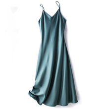2021 Fashion Summer Women Satin Long Silk Dresses For Woman Sexy Maxi Party Tank Dress High Quality Soft Smooth Vestido Clothes