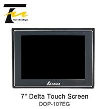Delta DOP 100 seria 7 Cal interfejs człowiek maszyna HMI DOP 107EG z DOP 107EV Ethernet + linia pobierania ekranu dotykowego 1 5M