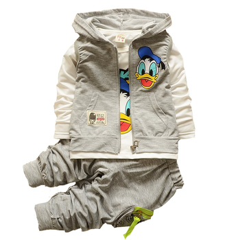 1 2 3 4 year Baby Boys Autumn Clothes Set 3 Pieces Children Clothing Set Hooded Jacket Children Clothes Boy Kids Tracksuit 1 2 3 4 year boys clothes 2018 new cotton casual kids outfits star shirts stripe pants 2pcs baby children clothing set
