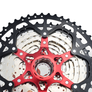 Image 5 - MTB 10 11 12 Speed Cassette Wide Ratio Freewheel Mountain Bike Sprocket 11 40T 42T 46T 50T Compatible with Shimano Sram Sunrace