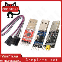 3 pçs/lote = 1PCS PL2303HX + 1PCS CP2102 + 1PCS CH340G USB PARA TTL para arduino PL2303 CP2102 5PIN Módulo USB para UART TTL