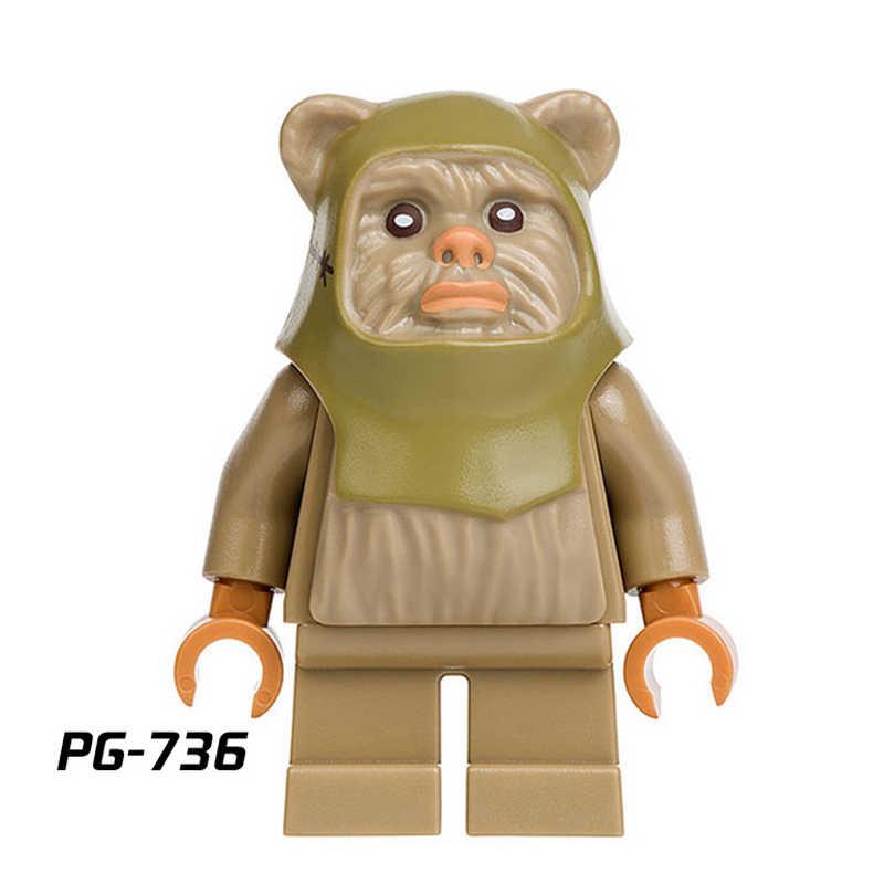 Clone Trooper star Wars legoed Blocchi di Costruzione di Obi-Wan Kenobi Emperor Guardia Reale Darth Vader Figure Giocattoli Per Bambini regalo WM557