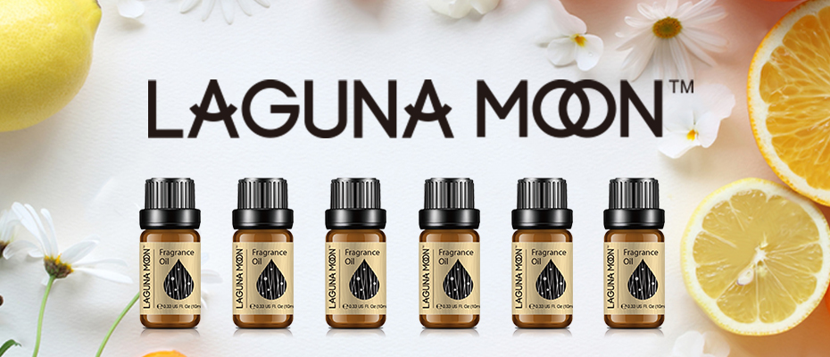 Lagunamoon White Musk 10ml Oil Fresh Linen Baby Powder Bubble Gum Strawberry Sea Breeze Lime