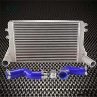 Kit intercooler (versão 2) para vw azul 06-10 vw gti golf turbo v mk5 2.0 t fmic