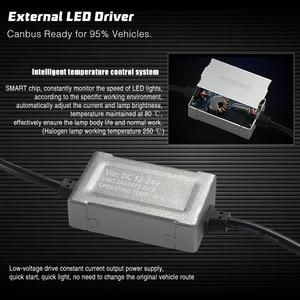 Image 5 - Kit de lampes à ampoule H1 phare LED 72W 36W 7000LM H7 H8/H9/H11 9005/HB3 9006/HB4 H4 pour voiture phare LED s