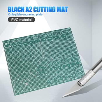 A2 cutting backing plate manual backing plate double-sided cutting paper backing plate carving board rubber backing plate down