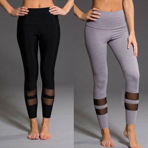 Elegant Womens Joggers Sports   Leggings   Workout Gym Fitness Pants Athletic Elastic Pants Summer Thin