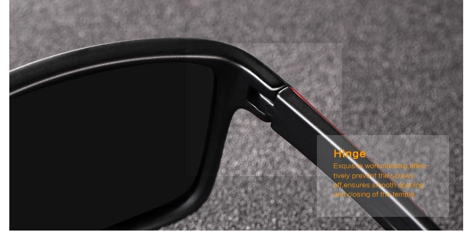 Polarking Brand New Sunglasses Men Polarized Classic Vintage Square Luxury For Man Fishing Woman Sun Glasses Shades UV400 Lens