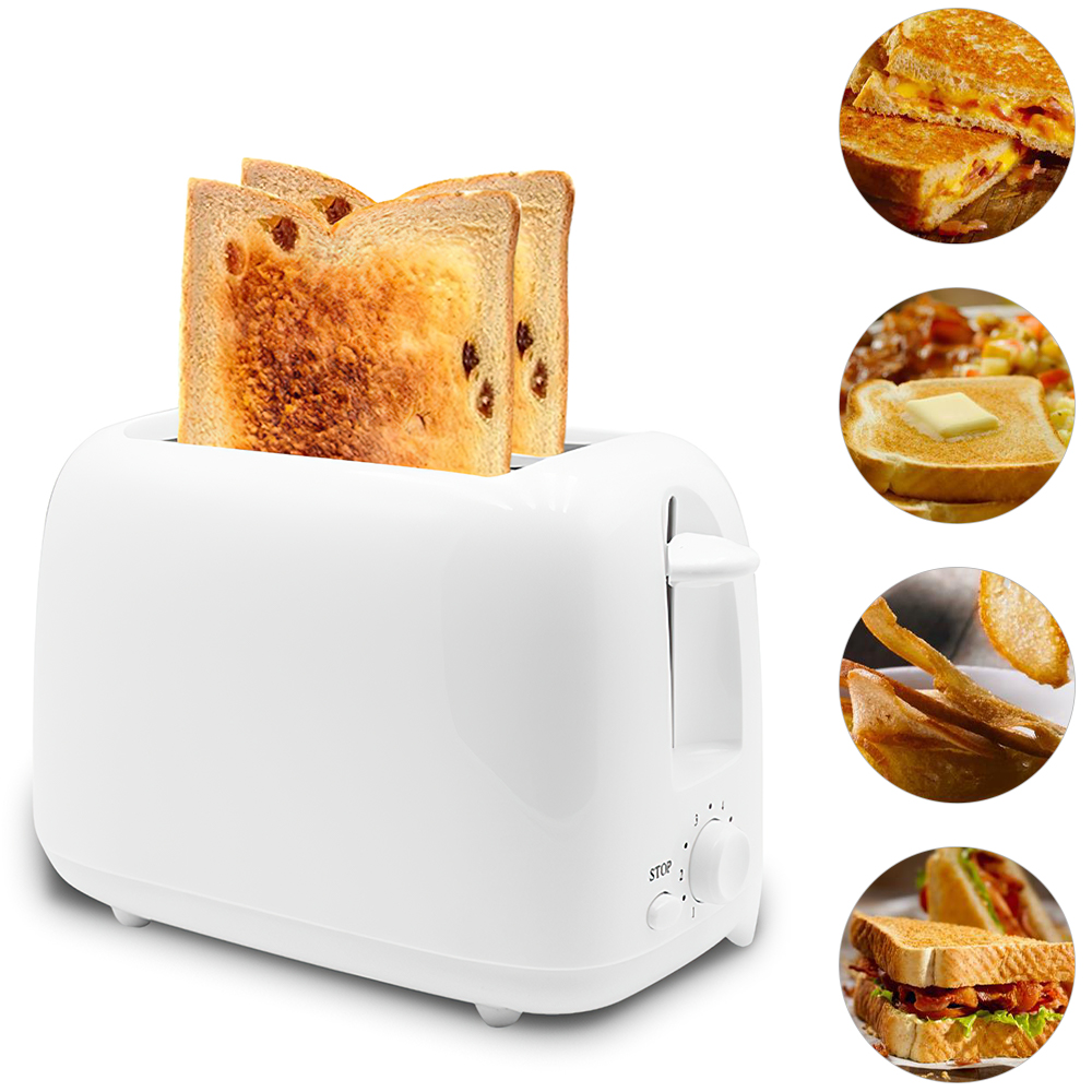 DIOZO 650W Automatic Toaster 2 Breakfast Bread Maker Baking Cooking Tool Fast Bread Toaster Household Breakfast Maker 1