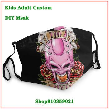 New Coming Vintage mouth mask with design funny Dragon Ball The Myth Majin Buu mascarilla reutilizable washable mask pm2.5