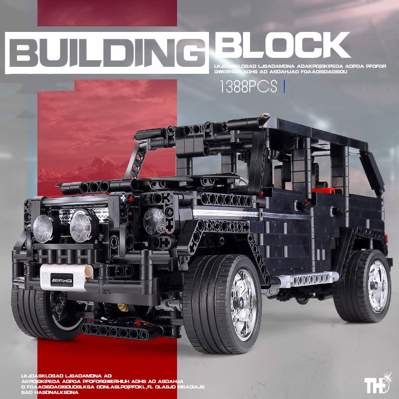 Technic G500 Big G Bricks SUV super racing car model Set <font><b>701960</b></font> Educational Building Blocks Toys For Children Christmas Gifts image