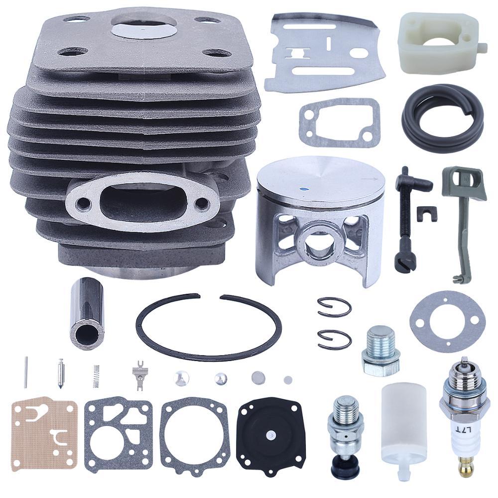 Chain 288XP Rod For 54mm Piston 503506301 Valve 288 181 Chainsaw Choke 281 Cylinder Intake Kit Decompression Manifold Husqvarna