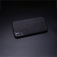 Baked Ostrich Skin Phone Case For IPhone X XS Max XR Fitted Case For Apple 5 5S SE 6 6S 7 8 Plus Protect Phone Case No Particles