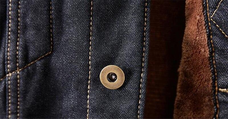 H83fc3d6f5b4b4b8ca818594d035fcc65G MORUANCLE Men's Winter Warm Jean Jackets And Coats Fleece Lined Thicken Thermal Denim Trucker Jacket Outerwear Plus Size M-5XL