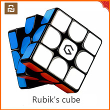Youpin giiker m3 cubo magnético 3x3x3 cor vívida cubo mágico quadrado quebra cabeça ciência educação trabalho com giiker app