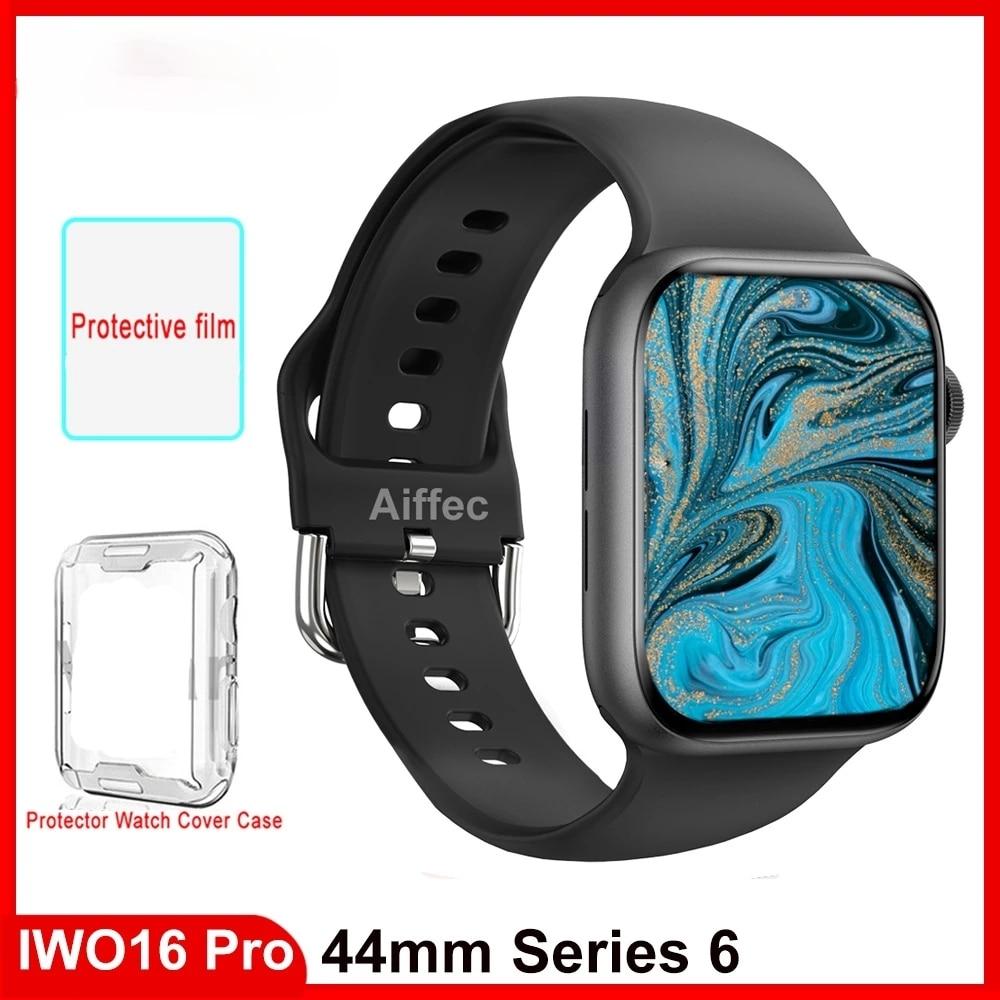 2021 Original Iwo 13 Pro smart Watch Serise 6 44mm IP68 Waterproof DIY Watch Face Smartwatch Men Women PK W66 W56 For Adroid