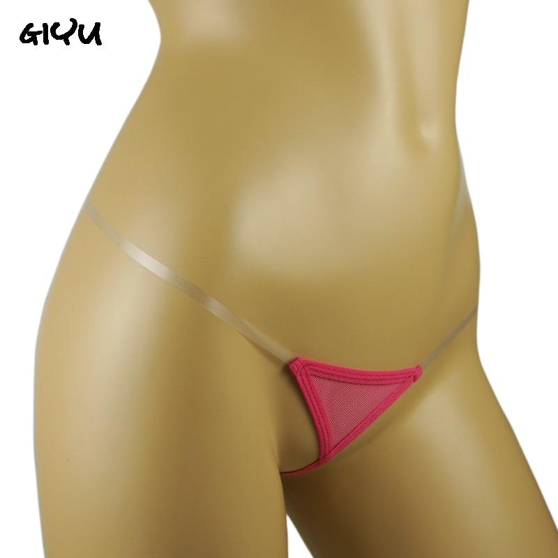 Womans Open Crotch Panties Crotchless Panties Erotic Hot G-Strings Transparent Sex Underwear Female Mini Tback Sex Micro Thongs