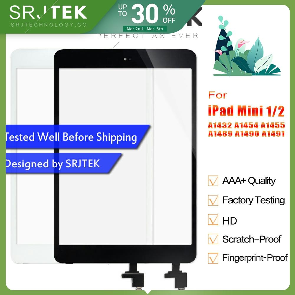 For IPad Mini Touch Screen For IPad Mini 2 1 Screen Digitizer For IPad Mini1 A1432 A1454 A1455 Mini2 A1489 A1490 A1491 Glass