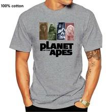 Planète des singes 1968 affiche de film t-shirt homme singe Montage Vintage t-shirt humoristique