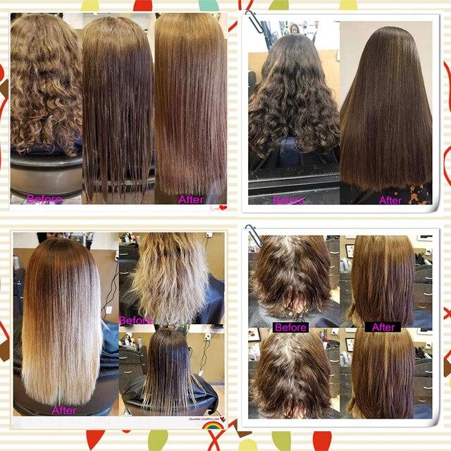 300ml Organica sans formol supérieur hydrolysé naturel kératine lisse Booster réparation cheveux endommagés odeur jasmin produit