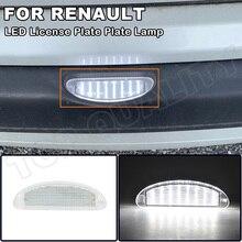 1X Kein Fehler LED Lizenz Nummer Platte Licht Lampe Für Renault Clio MK2 Clio II (1998 2005) twingo I (1993 2007) OEM #:7700410754