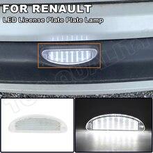 1X без ошибок светодиодный номерной знак светильник лампы для Renault Clio MK2 Clio II (1998-2005) Twingo I (1993-2007) мы работаем по OEM #:7700410754