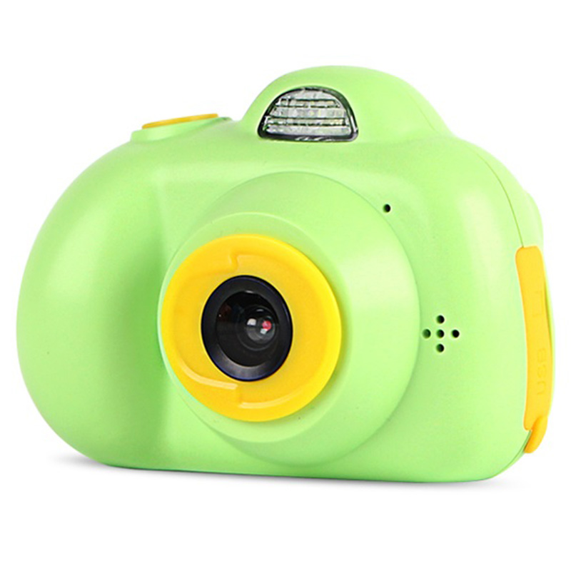 Camera Mini Kids Camera Multi-Language Function Puzzle Game Life Record Electronic Camera Educational Toy Children'S Birthday Gi