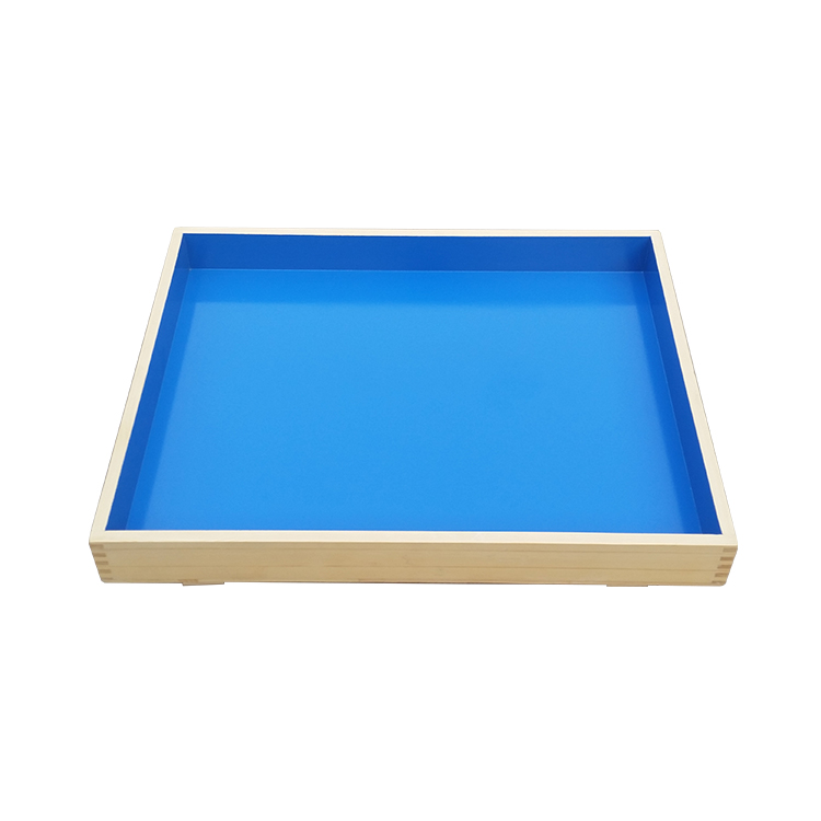 Psychological Counseling Room Equipment Psychology Sand Table Solid Wood Sandbox Children Sand Table Game Toys Building Block