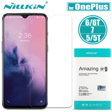 Oneplus 7T/7/6T/6/5T/5/3 закаленное стекло Nillkin 9H жесткий стеклянный протектор экрана для Oneplus 7T 7 6T 6 5T 5 3 пленка